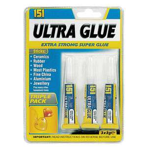 Ultra Glue Extra Strong Super Glue