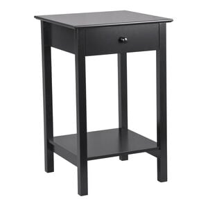 Heritage Anais Square Side Table Black
