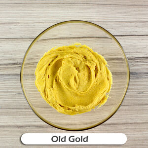 PME Old Gold Colour Food Paste 25g