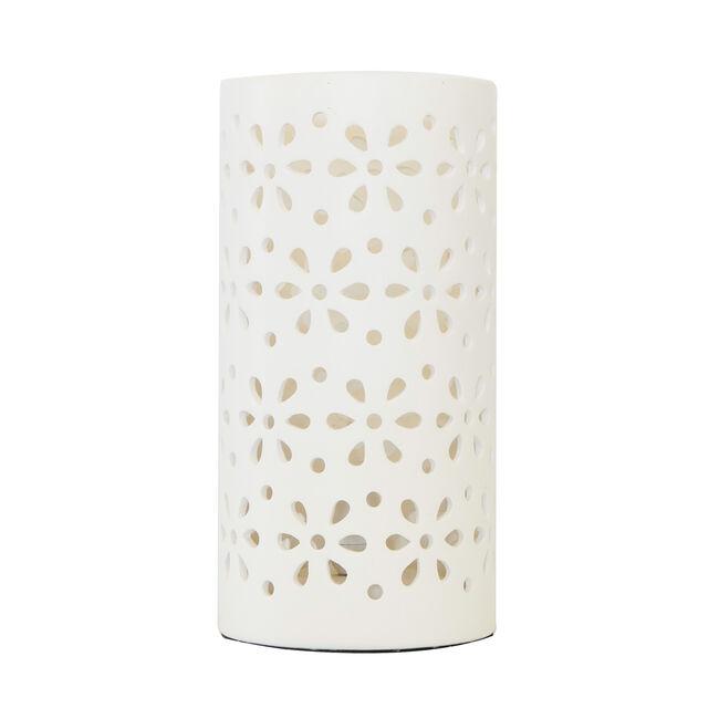 Daisy Silhouette Ceramic Table Lamp