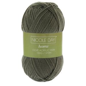Nicole Day Acrylic Olive Yarn