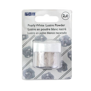 PME Pearly White Lustre Powder 2g