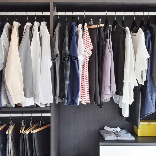 Skinny 10 Pack Grey  Hangers with Anti Slip