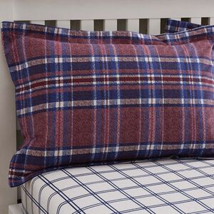 Brushed Cotton Gavin Check Oxford Pillowcases