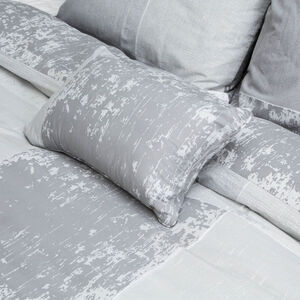 Hayes Charcoal Cushion 30x50cm
