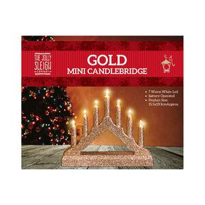 Gold Mini Candlebridge