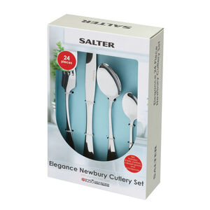 Salter Newbury Cutlery Set 24 Piece