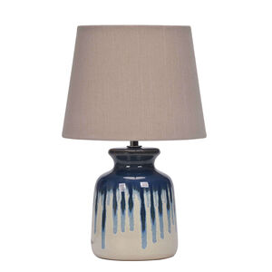 Ocean Blue Ceramic Table Lamp