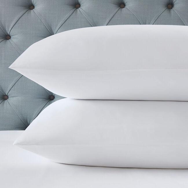 350TC Cotton Housewife Pillowcase Pair - White