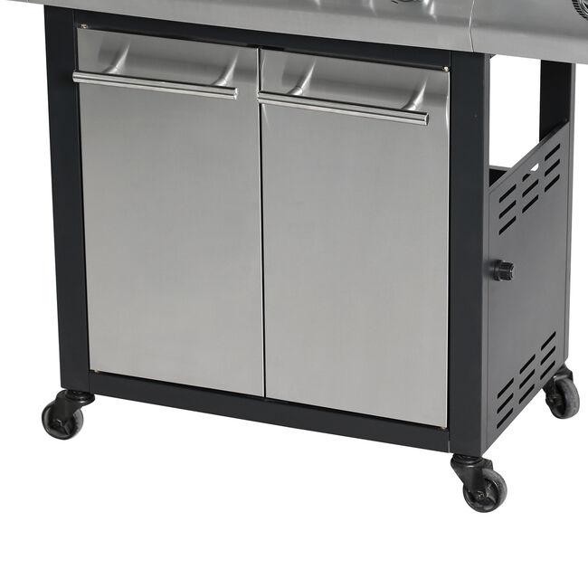 Master Cook Premium 600 6 Burner Gas Barbecue