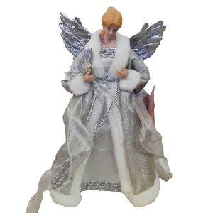 Angel Tree Topper - Silver