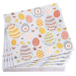 Decorative Eggs Napkins 20 Pack
