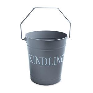 Silverflame Kindling Bucket - Grey