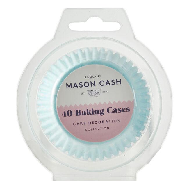 Mason Cash 40 Blue Polka Dot Cupcake Cases