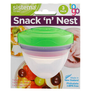Sistema Snack and Nest to Go