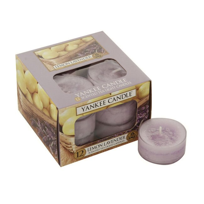 Yankee Candle Lemon Lavender Tea Lights