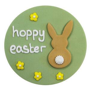 Hoppy Easter Sugarcraft Plaque