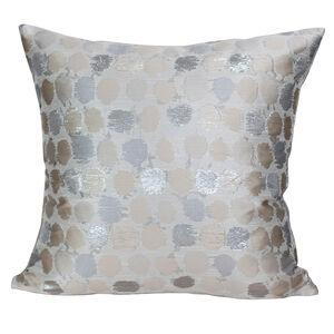 Shimmer Spot Cushion 58x58cm - Natural