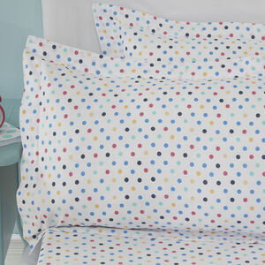Retro Swirl Oxford Pillowcase Pair