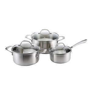 Cucino Argento 3 Piece Cookware Set