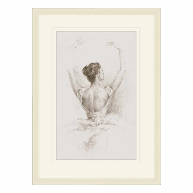 Grey Ballet 35cm x 50cm