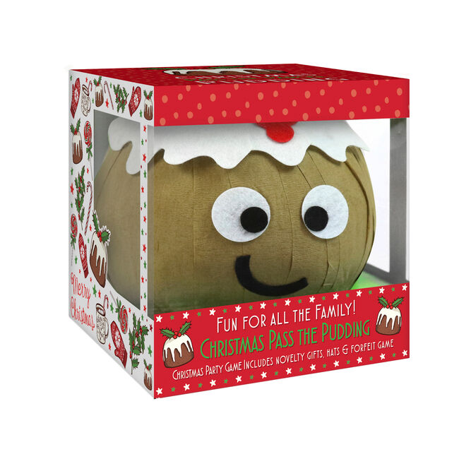 Pass the Christmas Pudding Parcel