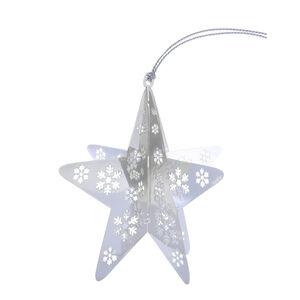 3D Hanging Star Tree Decoration