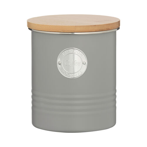 Typhoon Living Coffee Cannister 1L - Grey