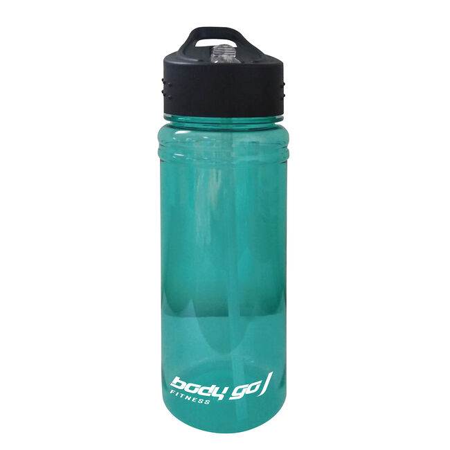 BodyGo Fitness Turquoise Straw Top Bottle 750ml