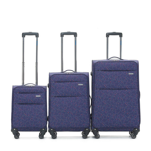 Large Planes Lightweight Suitcase