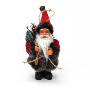 Hanging Mini Woodland Santa 13cm