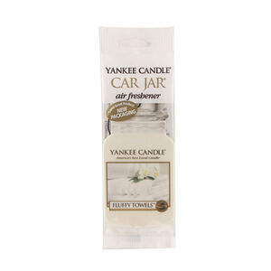Yankee Candle Car Jar Fluffy Towels