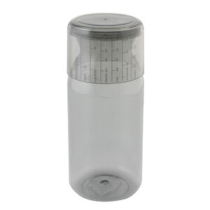 Brabantia Grey 1.3L Storage Jar with Measuring Cup