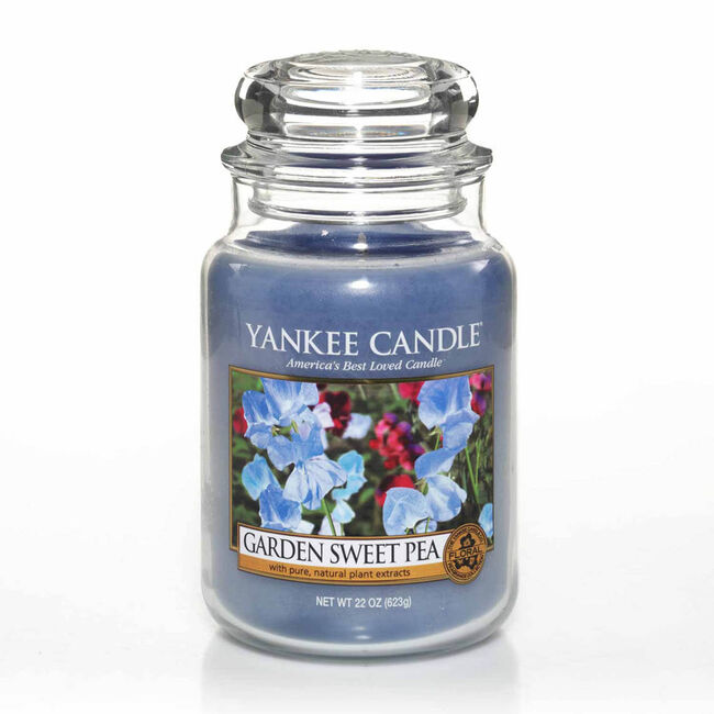 Yankee Candle Garden Sweet Pea Large Jar