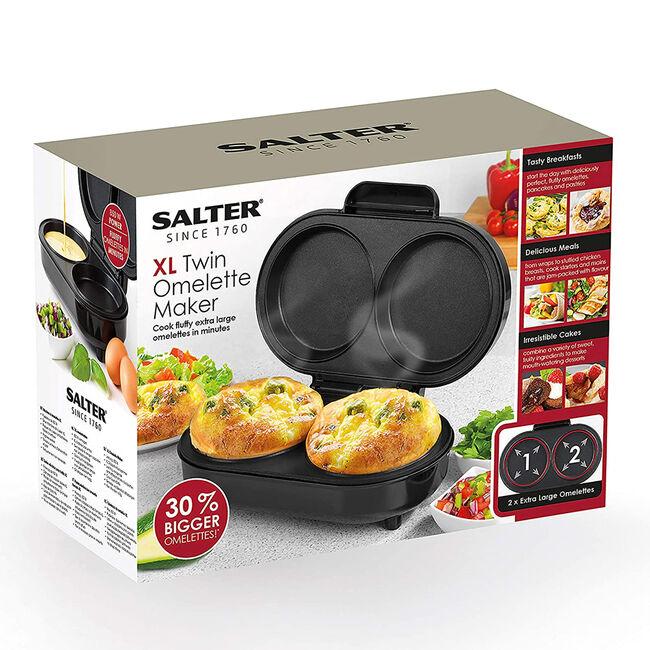 Salter XL Twin Omelette Maker
