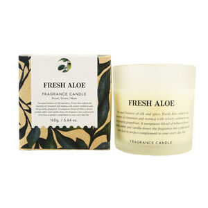 Natural Craft Fresh Aloe Scented Candle