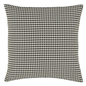 Waffle Raised Black 58x58 Cushion