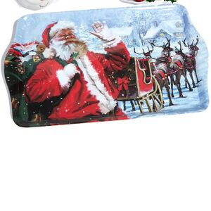 Santa and Sleigh Tray
