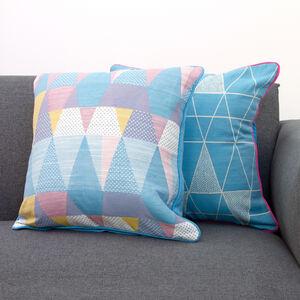 Geo Pop Cushion Covers 2 Pack 45x45cm