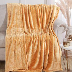 Ruane Plush Velvet Throw 150x200cm - Gold