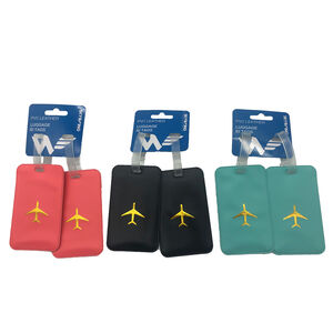 Luggage ID Tags PVC Leather