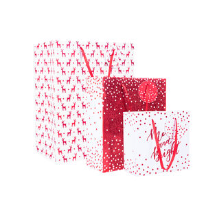 Christmas Gift Bags - 3 Pack
