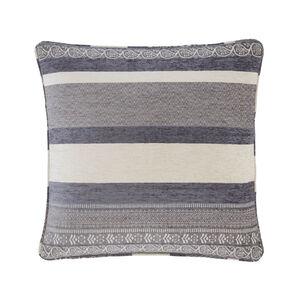 Isla Geo Grey Cushion 45cm x 45cm