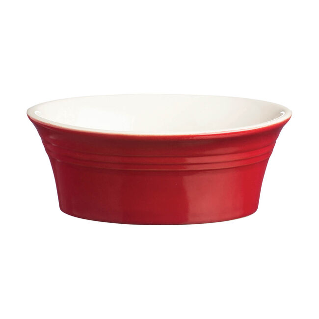 Mason Cash Red 18cm Oval Dish