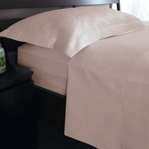 SB FLAT SHEET 500 Threadcount Cotton Oyster