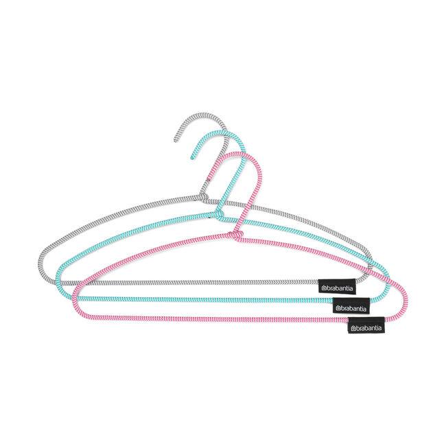 Brabantia Clothes Hangers - 3 Pack - Multicolours