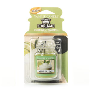 Yankee Candle Vanilla Lime Car Jar