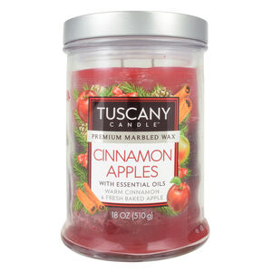 Tuscany Triple Pour Candle Cinnamon Apples