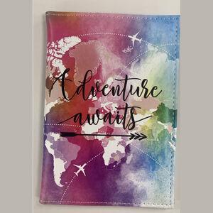 Adventure Awaits Passport Cover