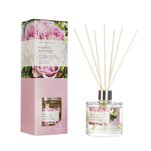 Modern Floral Wild Rose & Gardenia Reed Diffuser